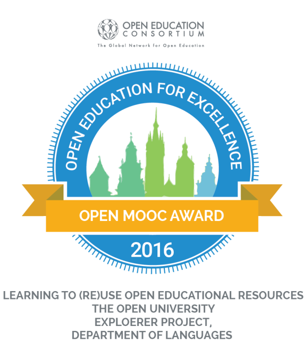 OECAward_badge-Learning to (Re)Use Open Educational Resources